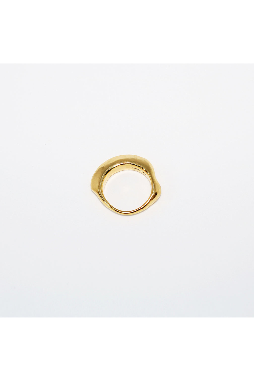 Gold Floating Bony Ring