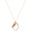 Orlan Baroque Pendant Necklace - Gold Plated