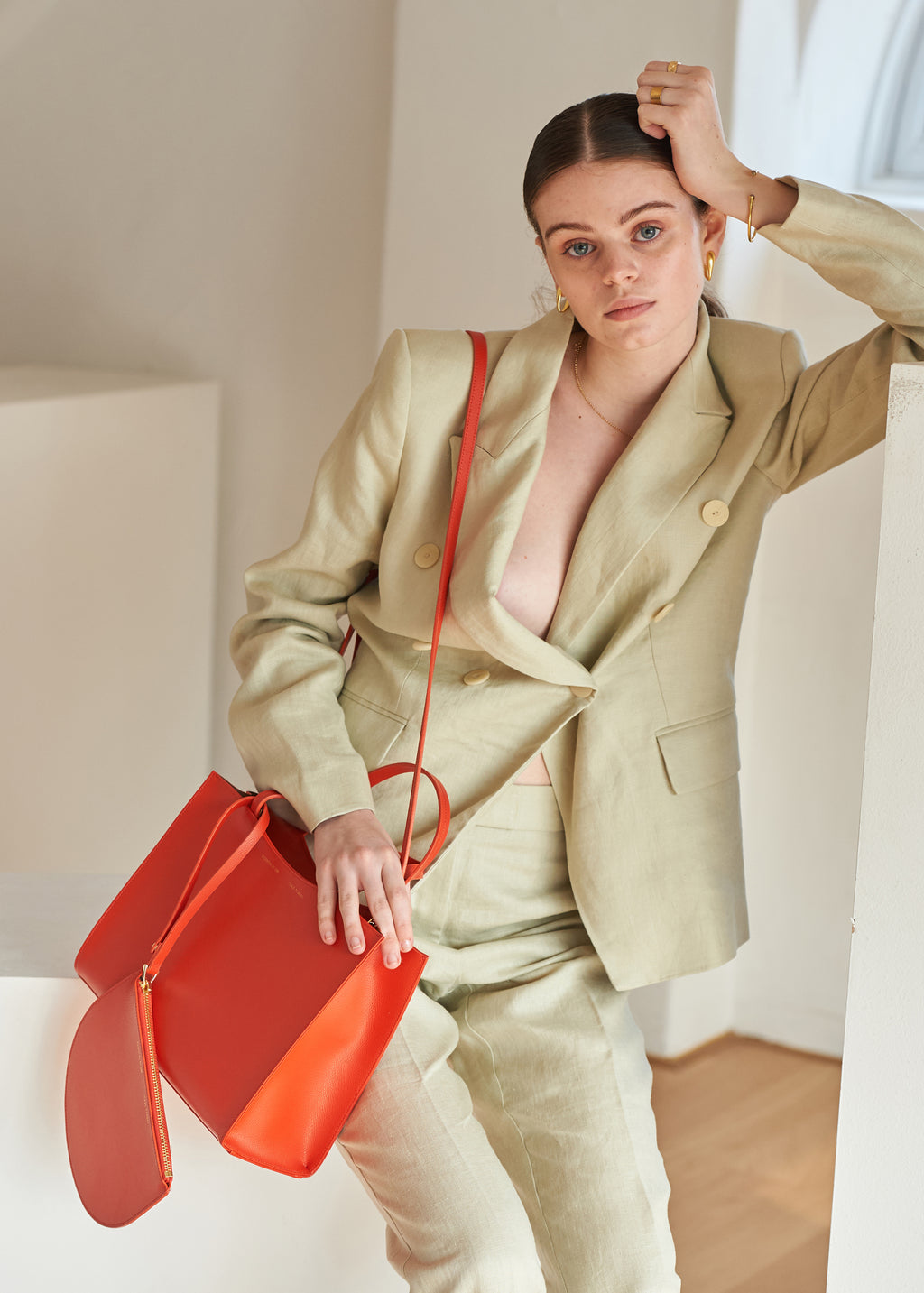 DALES TOTE - Cali Orange