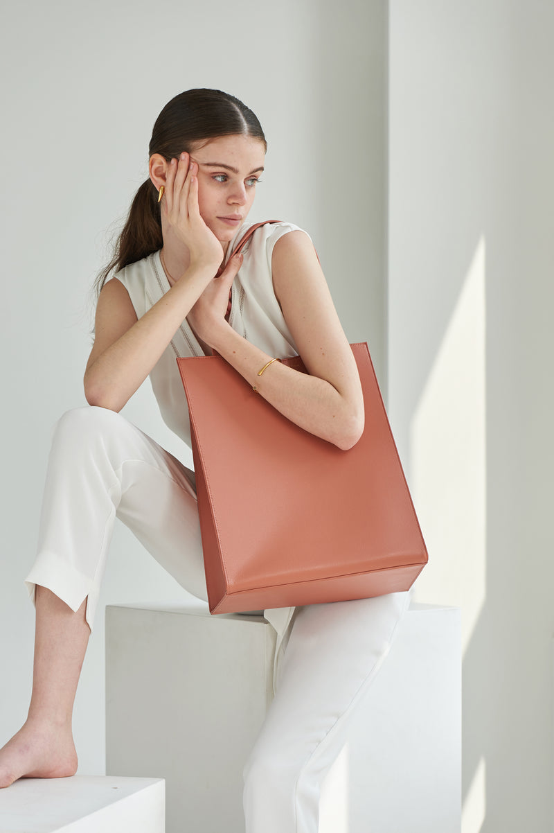 DALES SHOPPER - Coral Red