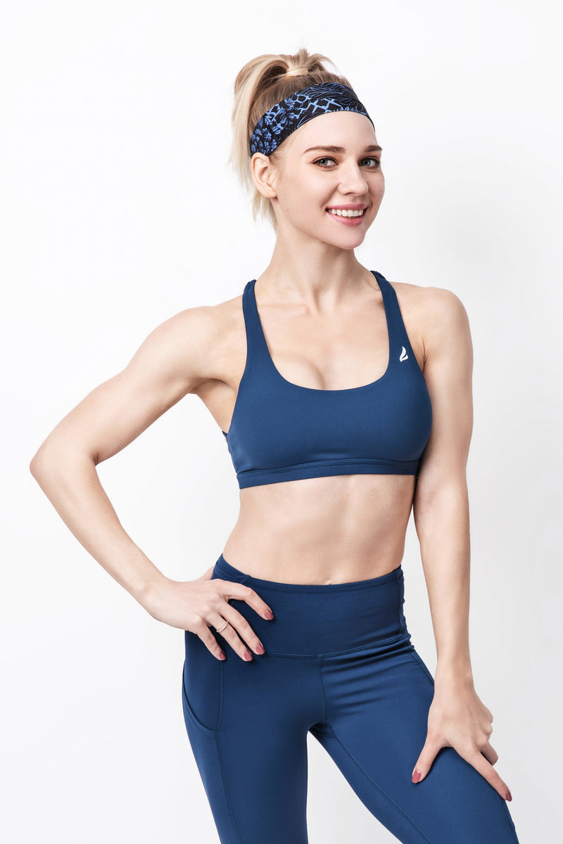 Support Strappy Back Sport Bra