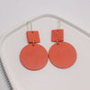 Fangyuan Earrings Leather Earrings