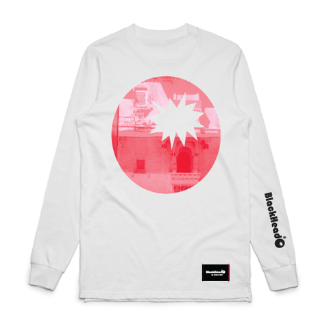 Red Bomb Photo Image on Long Sleeve T-Shirt