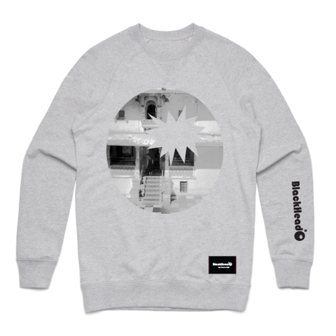 sweatshirt grey - photo in bomb - blackhead-clothing