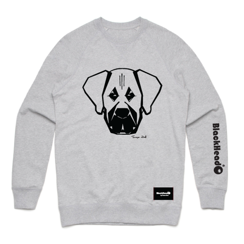 sweatshirt grey - mastiff - blackhead-clothing