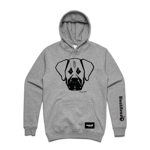 hoodie grey - mastiff - blackhead-clothing