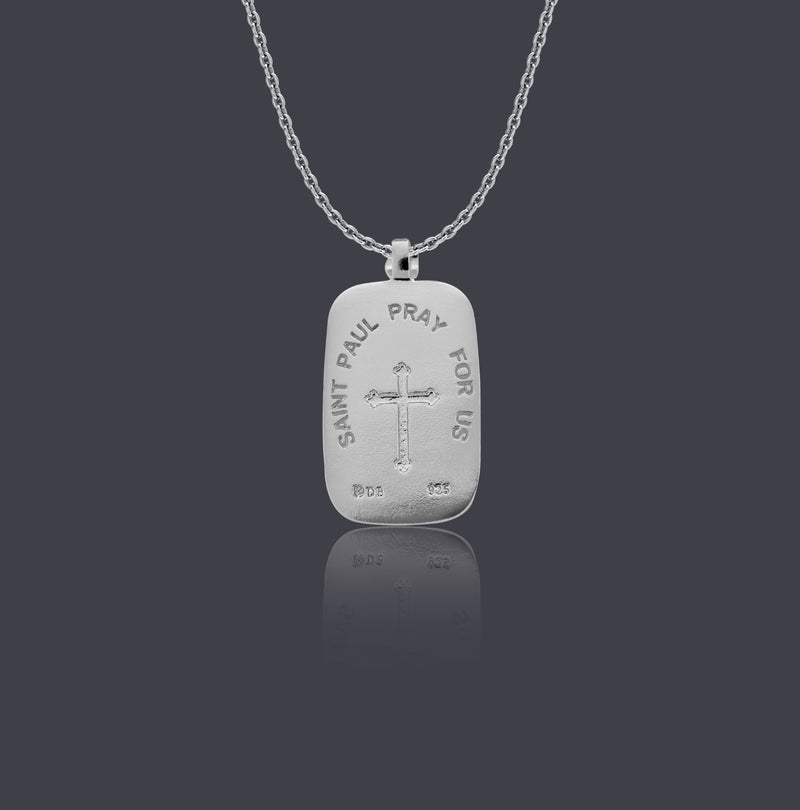 Sterling Silver Saint Paul Necklace - Divine Box
