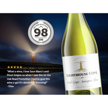 2017 Lighthouse Cove Pinot Grigio Sauv Blanc Limestone Coast 750ml (12 Bottles)