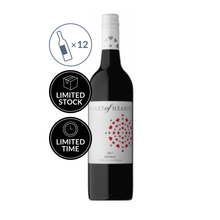 2017 Heart of Hearts Shiraz (12 bottles)
