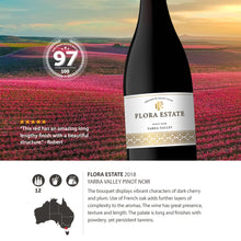 2018 Flora Estate Pinot Noir Yarra valley 750ml (12 Bottles)