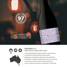 2019 The Puzzle Shiraz Pinot noir Yarra valley 750ml (12 Bottles)