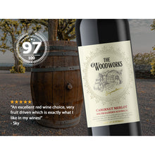 2019 Woodworks Cabernet Merlot 750ml (12 Bottles)