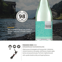 2020 Paradise Creek Marlborough Sauvignon Blanc 750ml (12 Bottles)