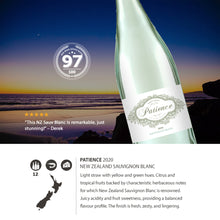 2020 Patience NZ Sauvignon Blanc 750ml (12 Bottles)
