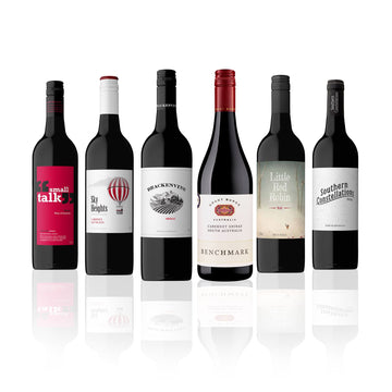 Mixed Aussie Red Wine Case feat. Grant Burge Cabernet Shiraz (6 Bottles)