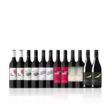 Mixed Aussie Red Dozen feat. Wolf Blass Shiraz (12 bottles)