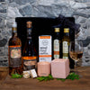 Gourmet Food, Wine & Coffee Lovers Hamper - Sparkling + Rose