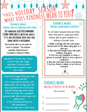 Sponsor a Kindness Activity Book