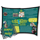 Global Heroes Activity Book:  Heroes During the Pandemic