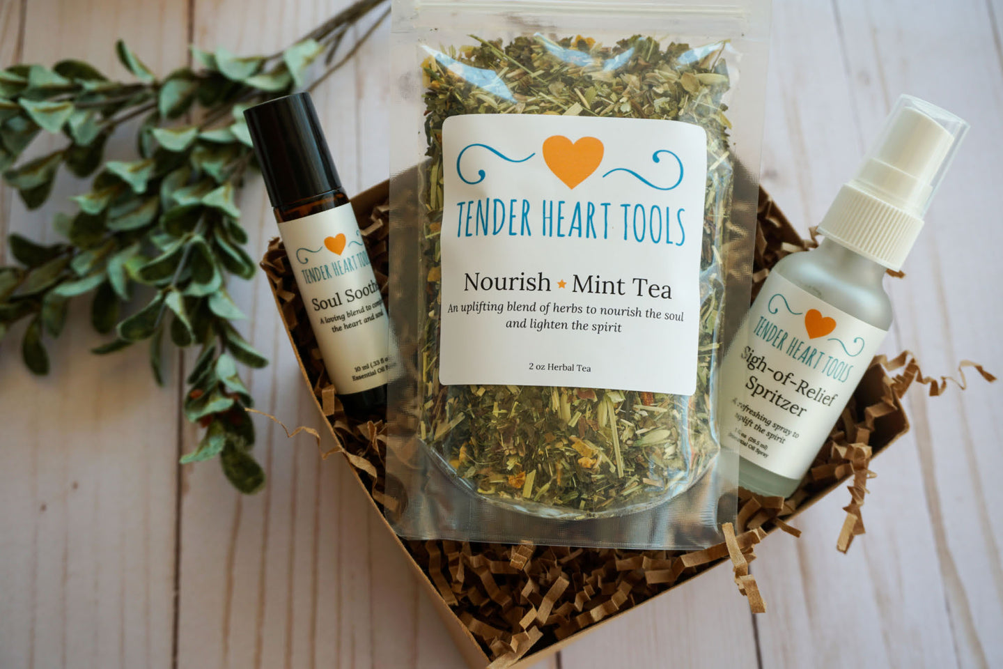 Nourish-Mint Gift Box