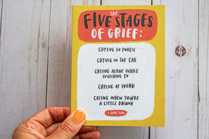 Five Stages of Grief