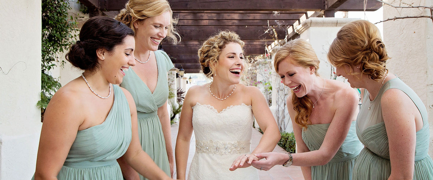 Meaningful Wedding Party Jewelry for your Bridesmaids.