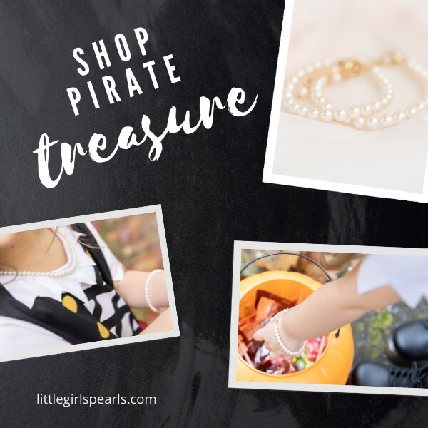 shop pirate pearls for Halloween.