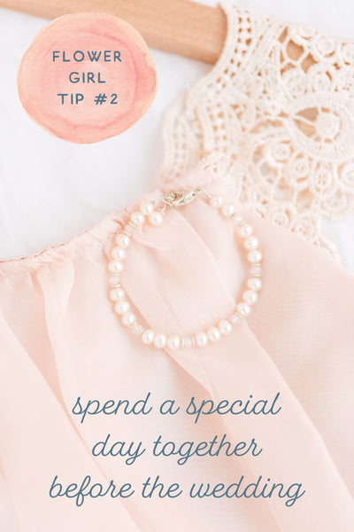 flower girl tip number 2 - spend a special day together before the wedding.