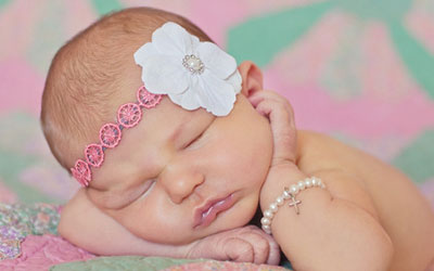 Heirloom Pearl and Silver Baptism Jewelry for Girls.
