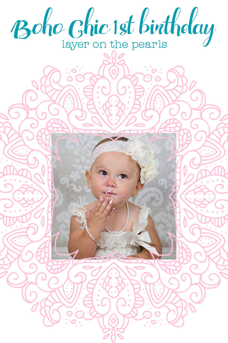 Boho Chic Pearls for Girls - a great idea for her birthday party! ♥ Little Girl's Pearls | #littlegirlspearls #bohochic #bohobirthdaygift #firstbirthdaygift #birthdaygift #firstbirthday #1stbirthdaygift #firstbirthdayideas