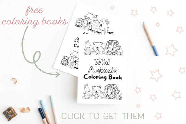animal fun printable coloring book pages.