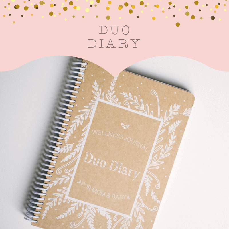 Duo Diary - for mom and baby.