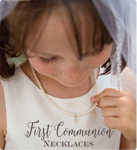 First Communion Necklace Gifts