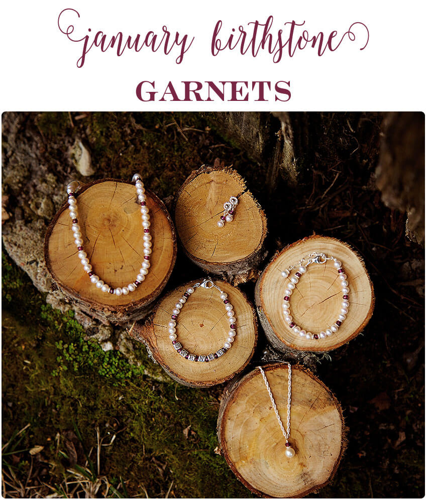 January Garnet Birthstones