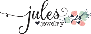jules-jewelry logo with flowers.