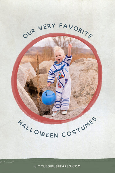 our very favorite halloween costumes with pearls - astronaut