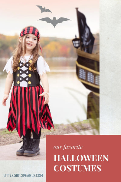 Our very favorite halloween costumes with pearls - pirate.