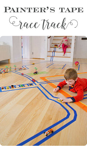 painters-tape-race-track