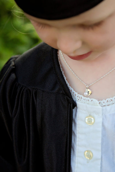 personalized kindergarten graduation necklaces gifts for girls.