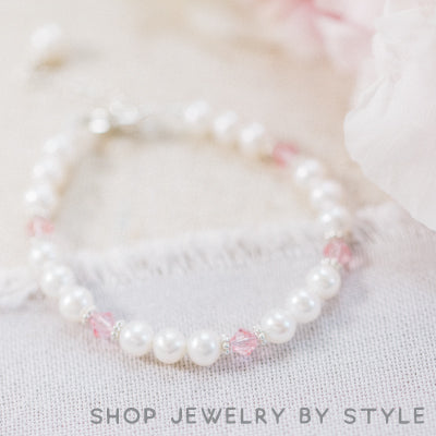 Shop pearl jewelry for girls by style from Little Girl's Pearls.