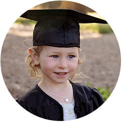 Shop heirloom pearl graduation necklaces and bracelets for girls.