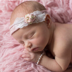 shop new baby girl bracelets - modern heirloom newborn gifts for girls.