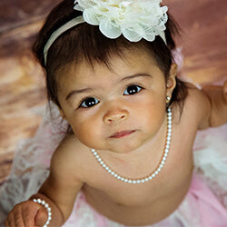 Shop New Baby Pearl Necklaces for Girls.
