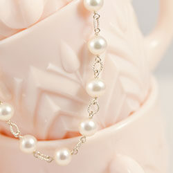 Shop Pearl Wedding Party Necklace Gifts.