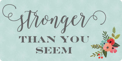 stronger printable