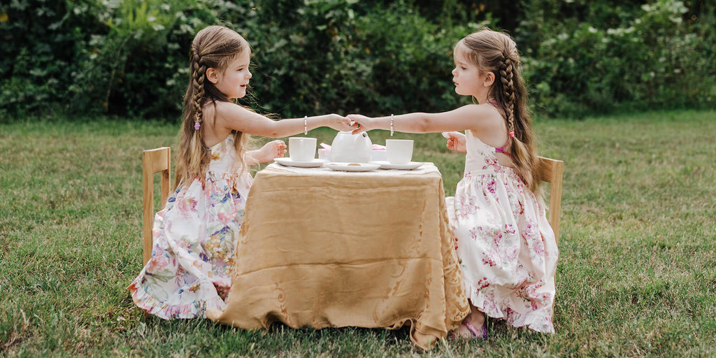 Spring Tea Parties - Easy Family Traditions.