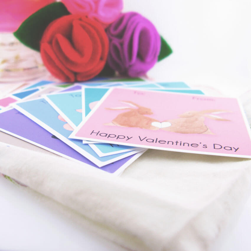 free printable valentine classroom cards | Little Girl's Pearls blog ♥