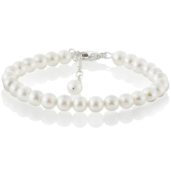 Sweet Pearl Bracelet - Little Girl's Pearls