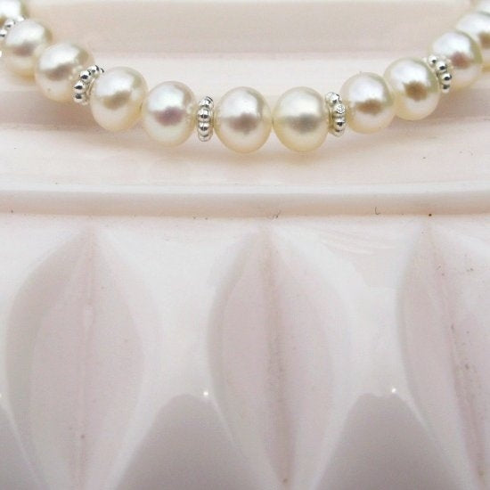 Precious Pearls Bracelet - Little Girl's Pearls