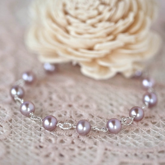 Beautiful Pearl Bracelet - Little Girl's Pearls